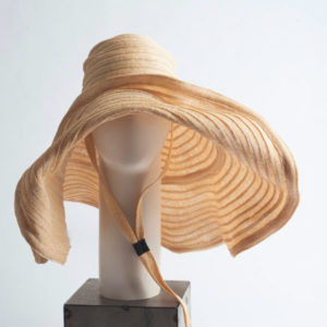 Linea Light Pamela Hat is made from a viscose raffia weave, breathable, very light, soft with a maxi brim. 100% viscose raffia. Made in Italy